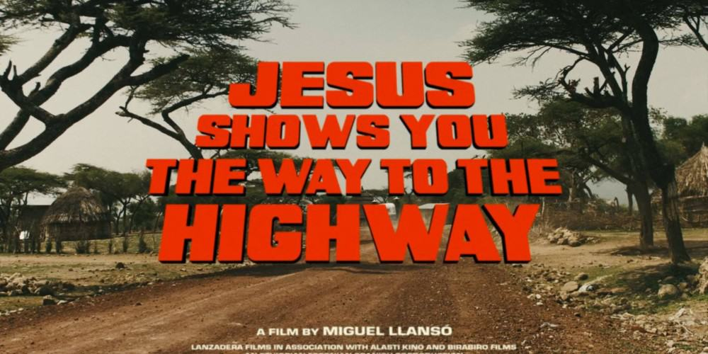"""Jesus Shows You the Way to the Highway"""" de Miguel Llansó."""