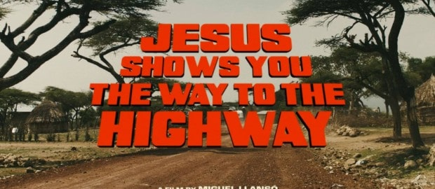 "Jesus Shows You the Way to the Highway"" de Miguel Llansó."